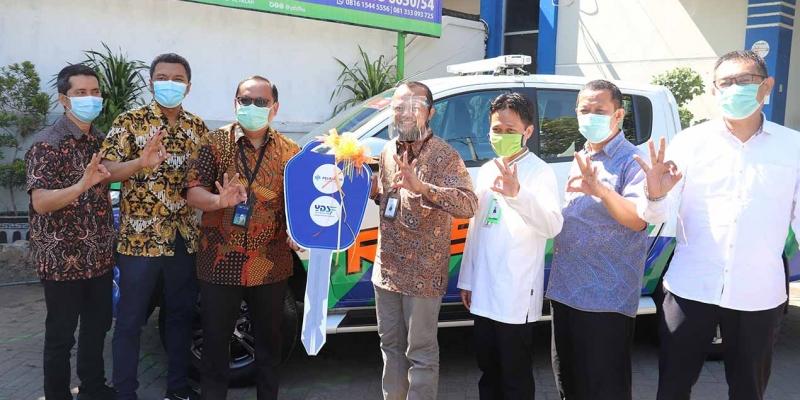 YDSF Terima Mobil Rescue PT. Pelindo III (Persero) dan Berikan Rp2,9 M Sekolah Daring Dhuafa